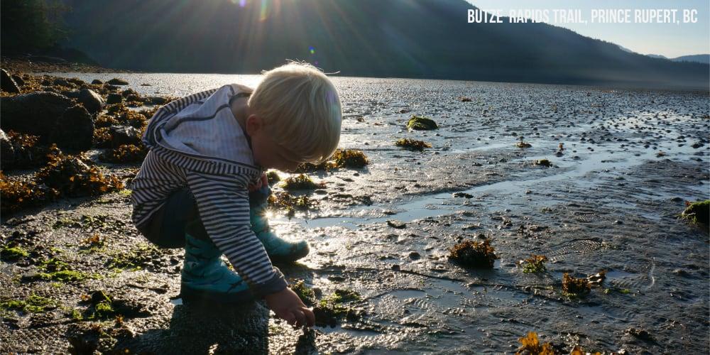 Exploring Grassy Bay on the Butze Rapids Trail in Prince Rupert BC #explorebc #travelcanada
