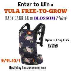 GIVEAWAY – Tula Free-to-Grow in BLOSSOM