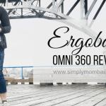 Toddler Chasing with Ergobaby Omni 360