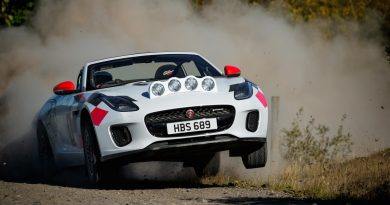 Jaguar F-Type rally