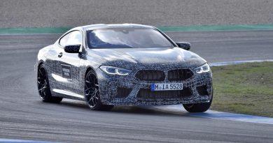 BMW M8 track test