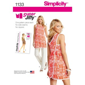 1133 simplicity aprons pattern 1133 a envelope
