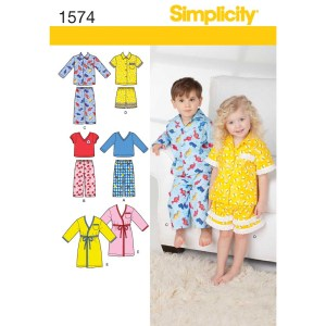 1574 simplicity babies toddlers pattern 1574 a envelope