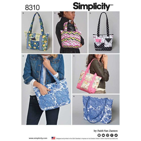 8310 simplicity accessories pattern 8310 a envelope