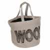 Bucket Bag Wool Logo