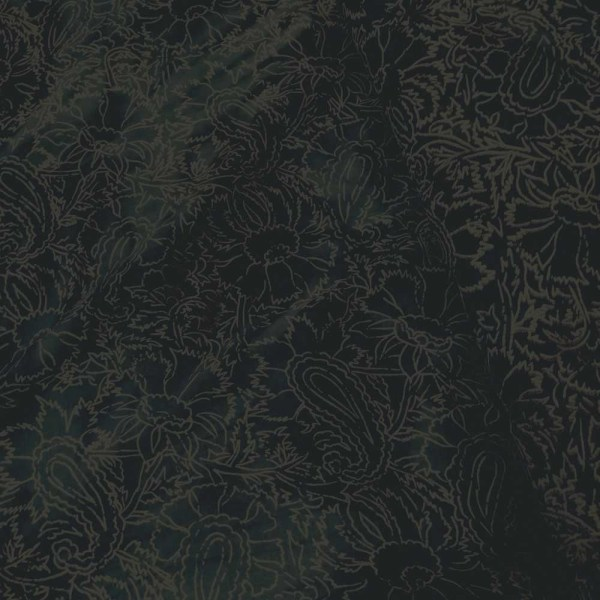 forest blue mix cotton fabric