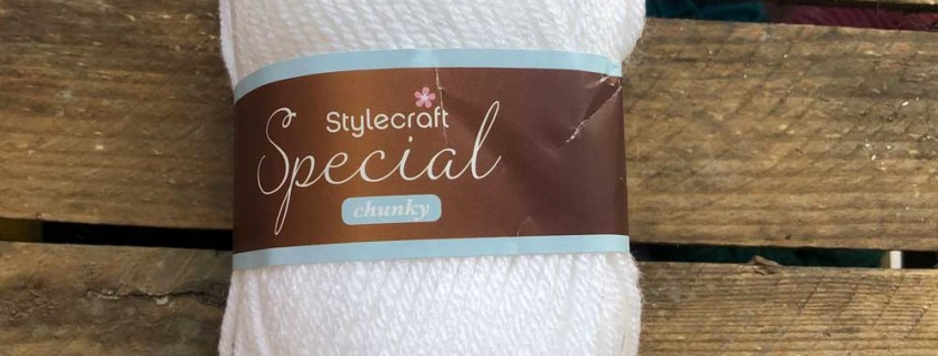 stylecraft special chunky wool white 1