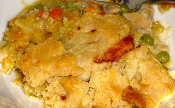 Slice of Turkey Pot Pie