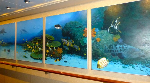 Norwegian Cruise Artwork