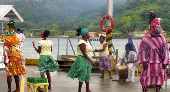 Dancers, Roatan, Honduras