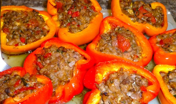 Stuffed Peppers Paleo Style