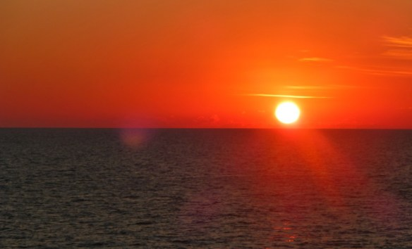 Sunset, Gulf of Mexico