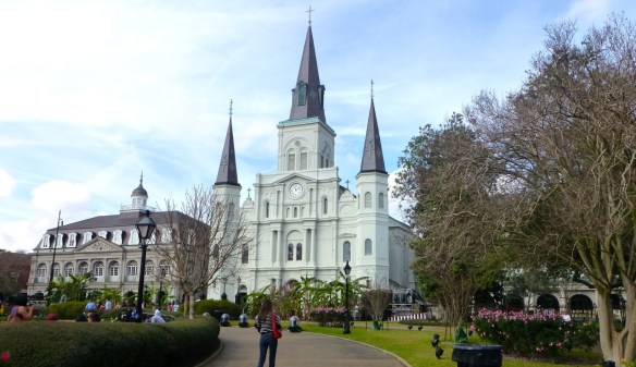St Louis Cathedral, New Orleans, Louisiana