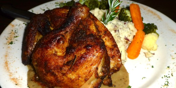 Herbed Chicken with Mashed Potatoes
