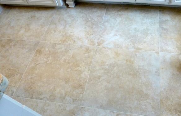 Large Tile in Master Bathroom