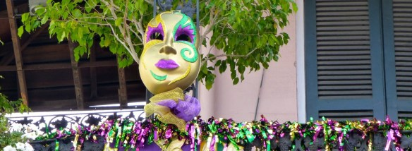 Mask, French Quarter, New Orleans, Louisiana
