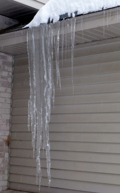 Overhanging Ice
