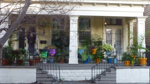 Apartments, Garden District, New Orleans, Louisiana