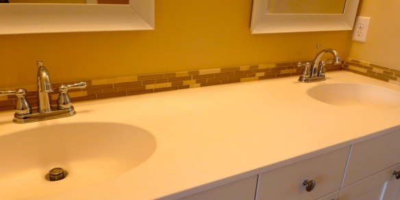 New Bathroom Countertop