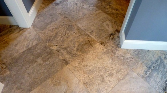 Angled Floor Tile