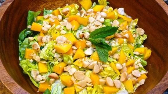 Mango Mint Salad