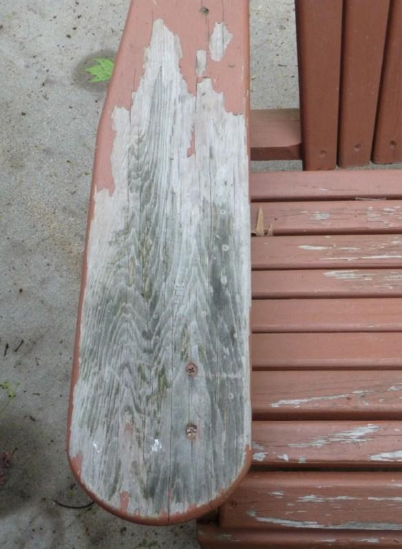 Adirondack Chair - Water Damage
