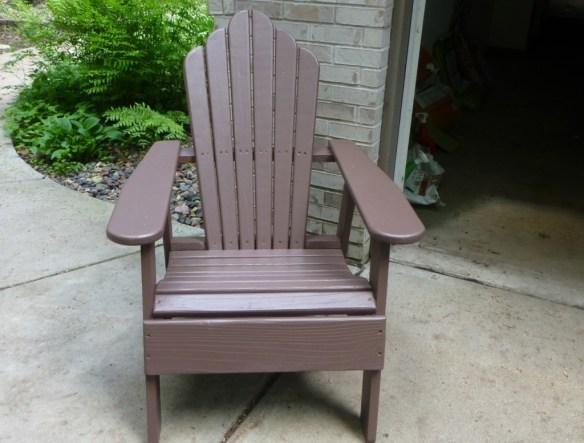 Refinished Adirondack Chair