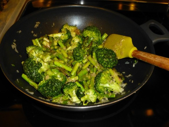 Asparagus Broccoli Stir Fry