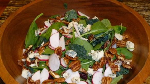 Arugula Salad with Orange Dressing