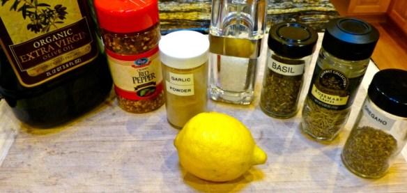 Greek Lamb Chops Ingredients