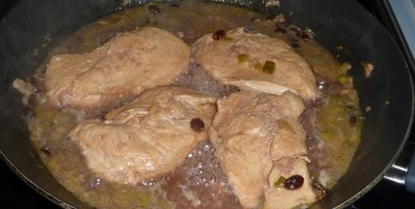 Grilling Pomegranate Chicken