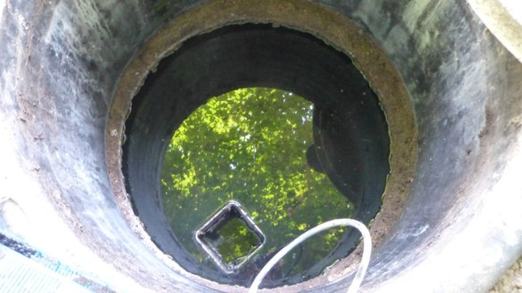 2nd Septic Holding Tank