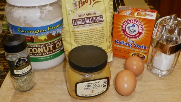 Ingredients for Paleo Biscuit