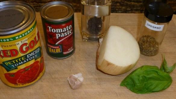 Meatball Sauce Ingredients