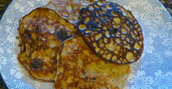 Banana Almond Paleo Pancakes