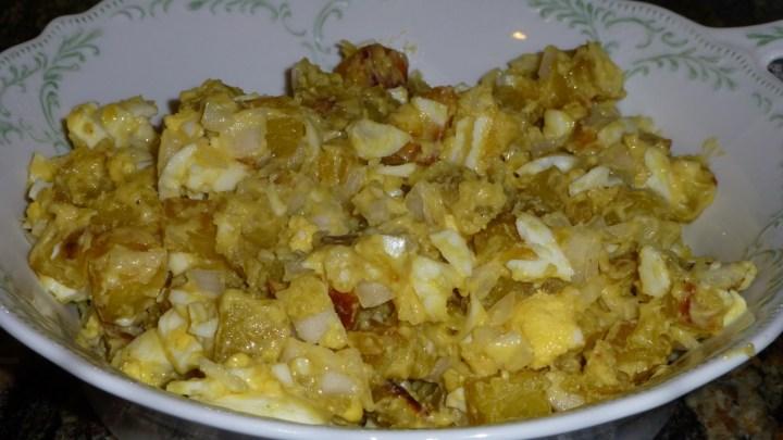 Paleo Egg and Potato Salad