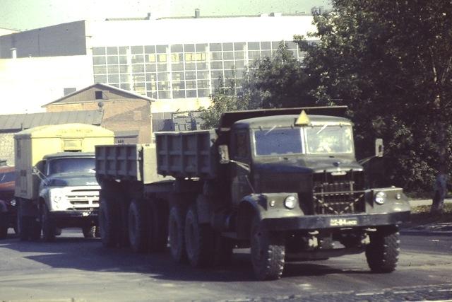 Moscow, Russia, Trucks, Circa 1970