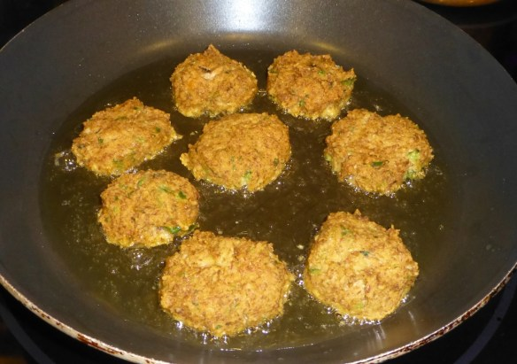 Fry Veggie Patties