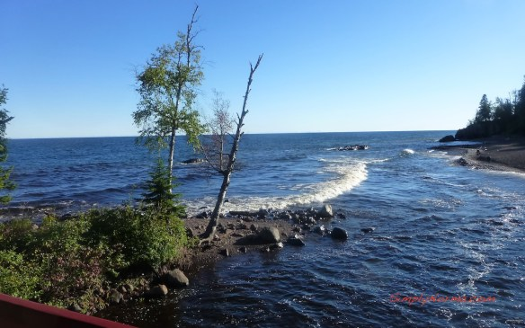 View of Lake Superior from Lutsen Resort