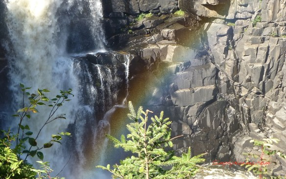 High Falls Rainbow, Grand Portage State Park