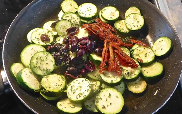 Add all ingredients to skillet