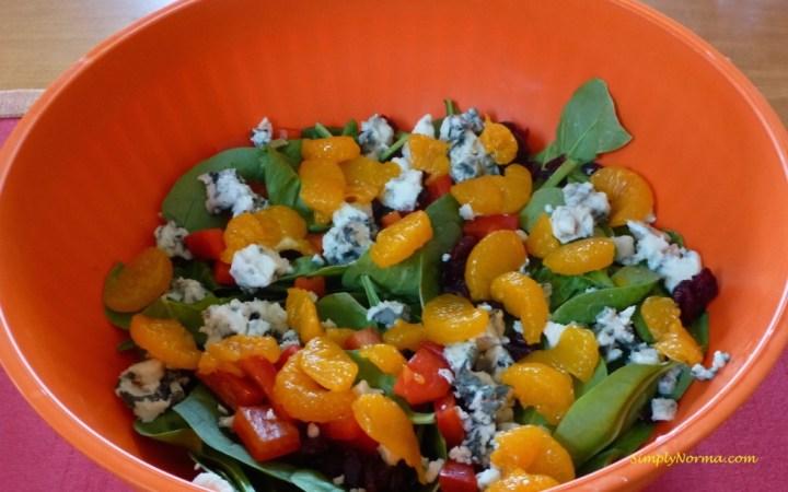 Spinach Orange Blue Cheese Salad