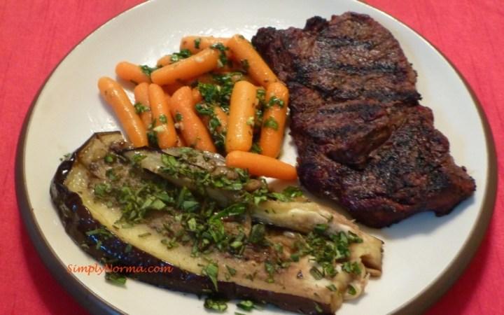 Cilantro and Cumin Spiced Carrots