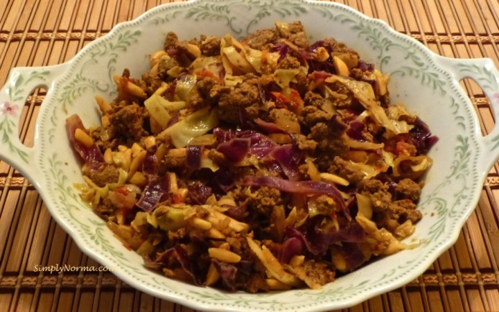 Paleo Cabbage with Beef