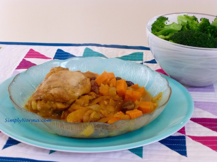 Paleo Roasted Chicken With Apricots