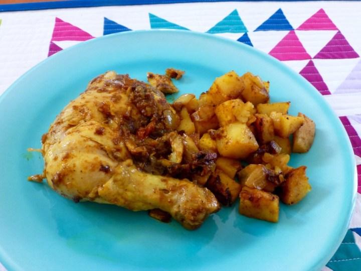 Indian Chicken with Gravy