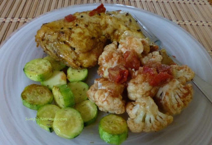 Spicy Indian Cauliflower