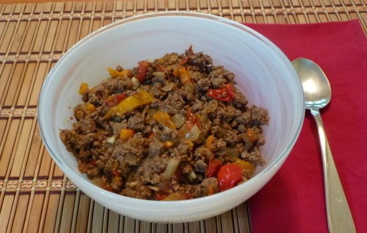 Paleo Chili with Fresh Tomatoes