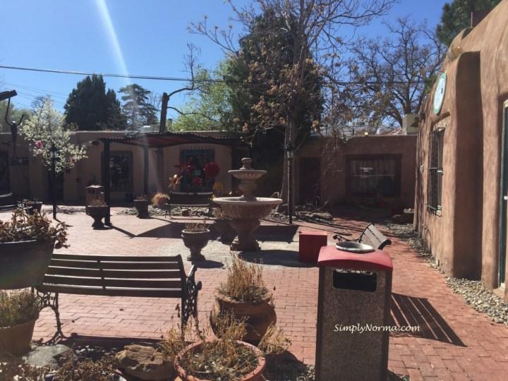 Old Downtown Albuquerque Courtyard
