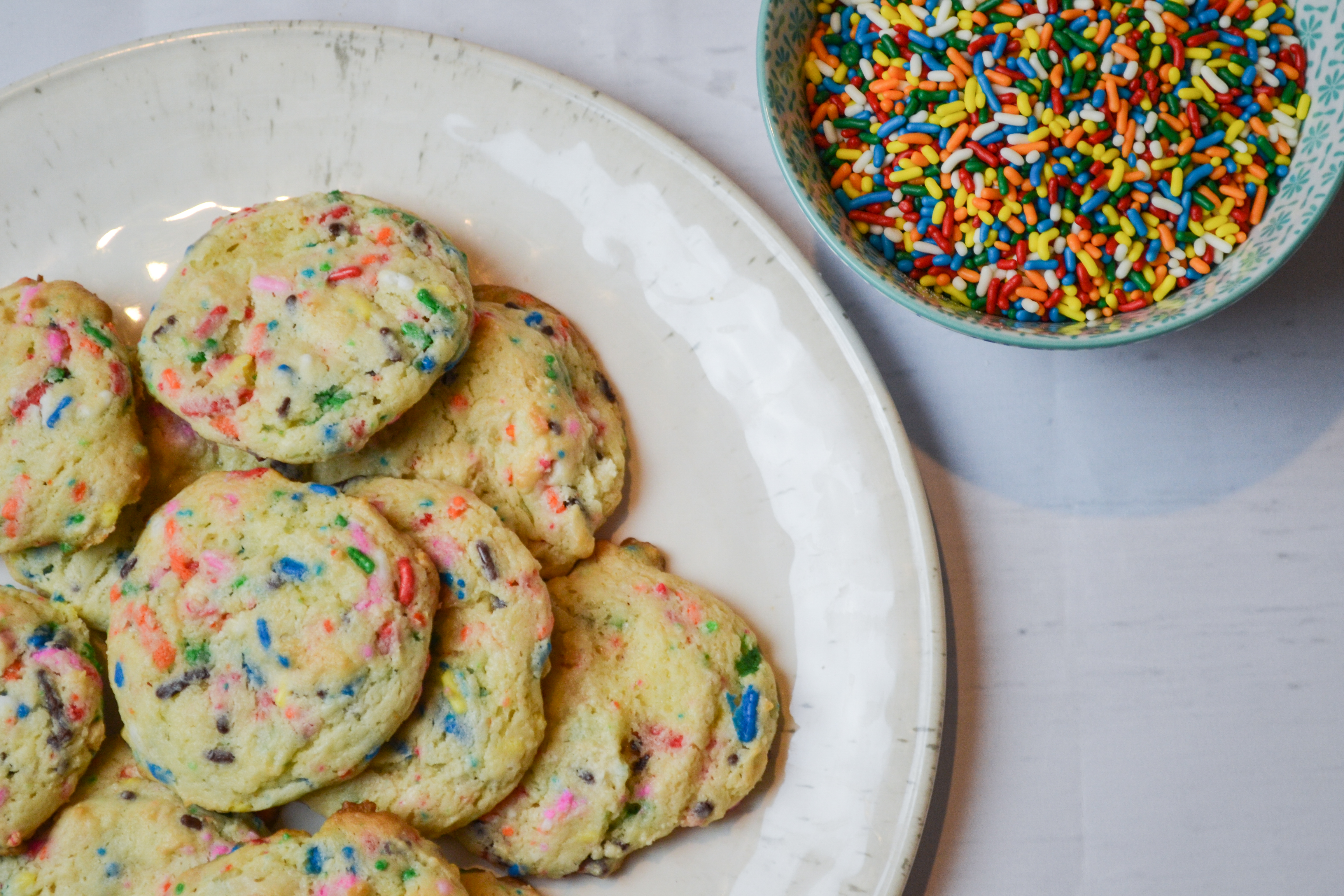 Cake Mix Cookies Two Ways Funfetti Amp Double Chocolate